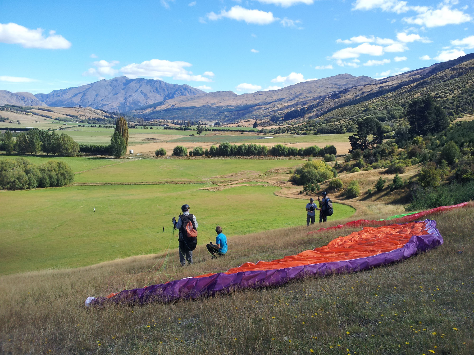 Intro Day Course - Infinity Paragliding 11